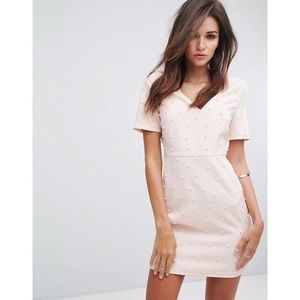 Pastel Pink and Pearl Dress Purchased from ASOS